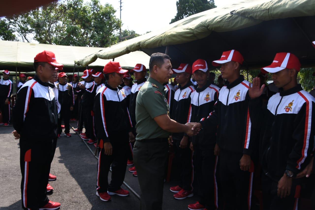 Kontingen Porad Kodam IV/Diponegoro Siap Sapu Bersih Emas