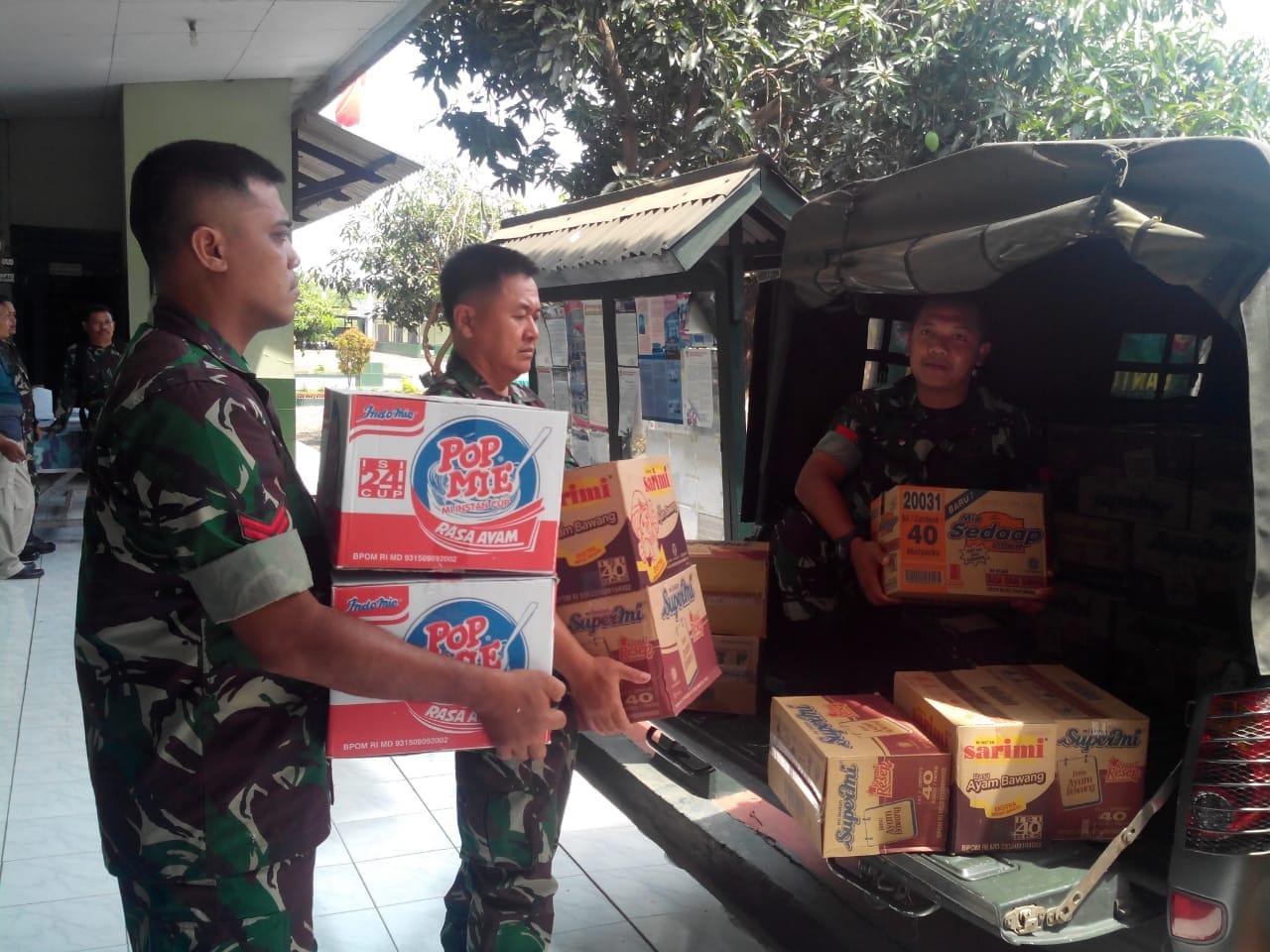 Kodim 0711/Pemalang Kirim bantuan Ke Korban Gempa Palu-Donggala