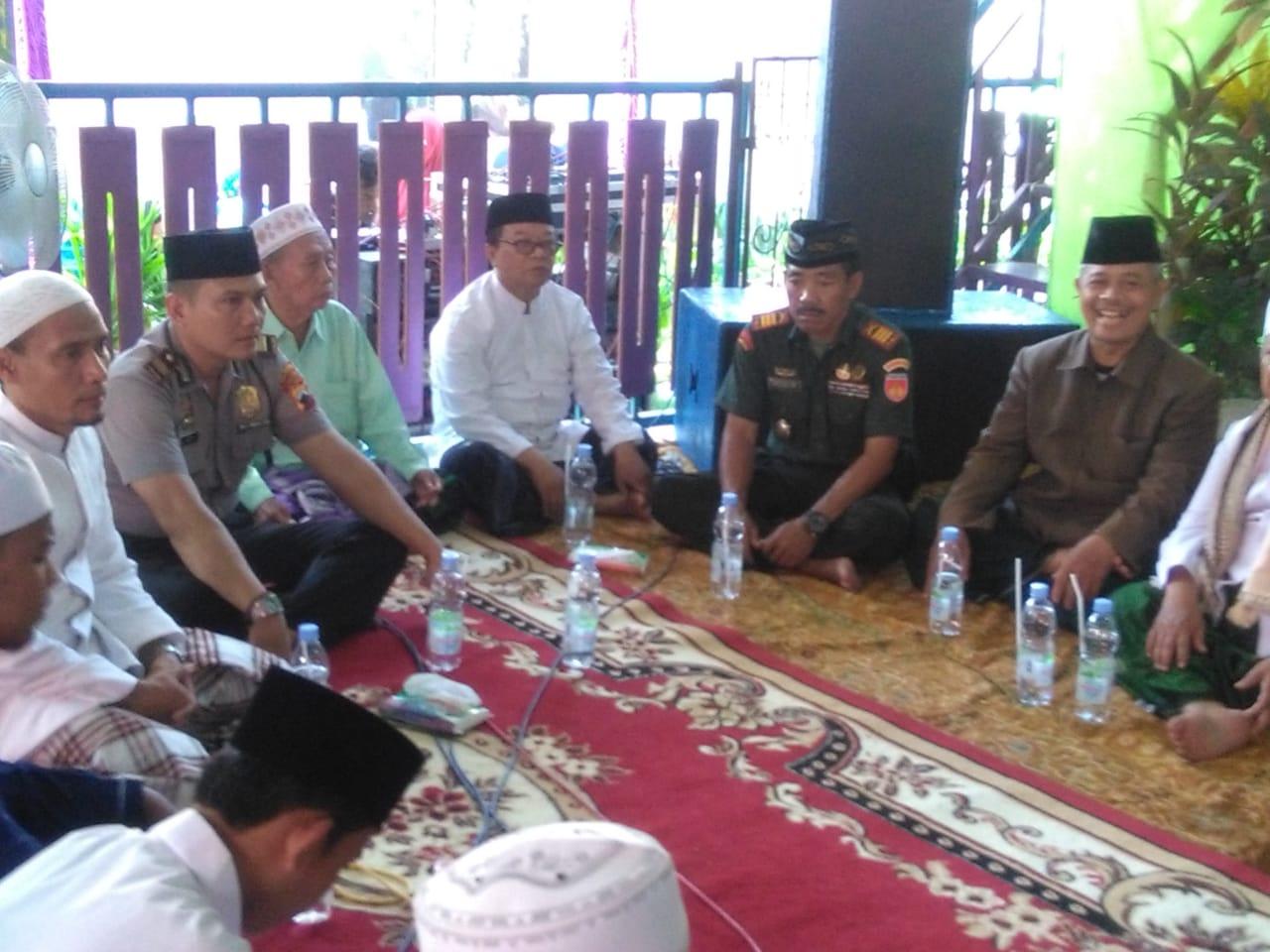 Danramil 03/Petarukan Hadiri Pengajian Dalam Rangka Maulid Nabi Muhammad SAW