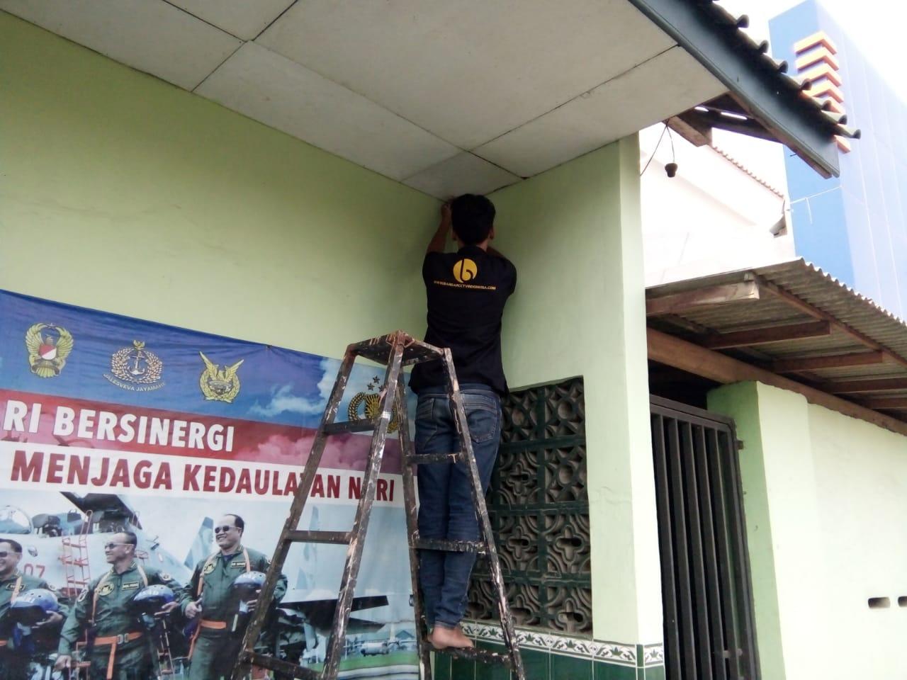 KORAMIL 05/ULUJAMI, AMANKAN PANGKALAN DENGAN PASANG CCTV