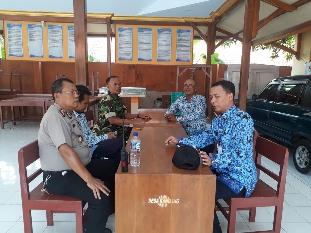 DANRAMIL: TINGKATKAN SINERGITAS TNI DENGAN POLRI DENGAN PANTAU WILAYAH