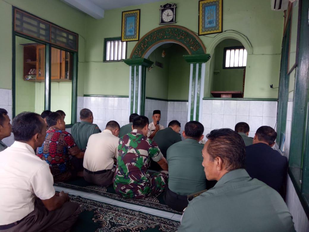 Kodim Pemalang Adakan Rutinitas Kultum Selama Bulan Ramadhan