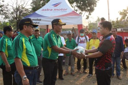 Bupati Pemalang buka Turnamen Sepakbola Open Dandim Cup HUT ke 74 TNI tahun 2019