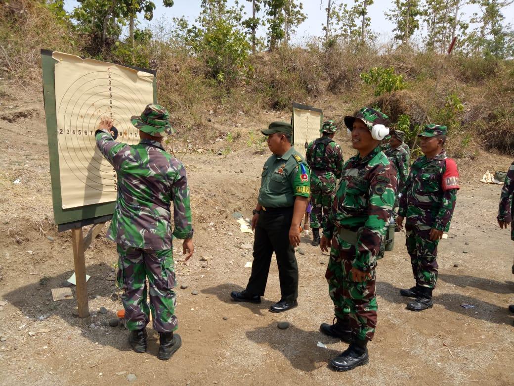 Ratusan Prajurit Kodim 0711/Pemalang Melaksanakan Latihan Menembak Jatri TW IV TA. 2019