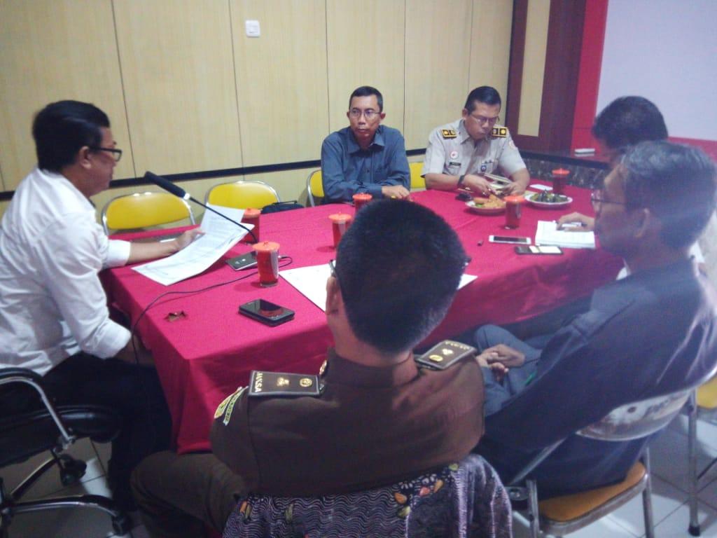 Rapat Koordinasi Rencana Penyusunan Fasilitasi Keluarga Sadar hukum Dan Desa Sadar Hukum Tahun 2020