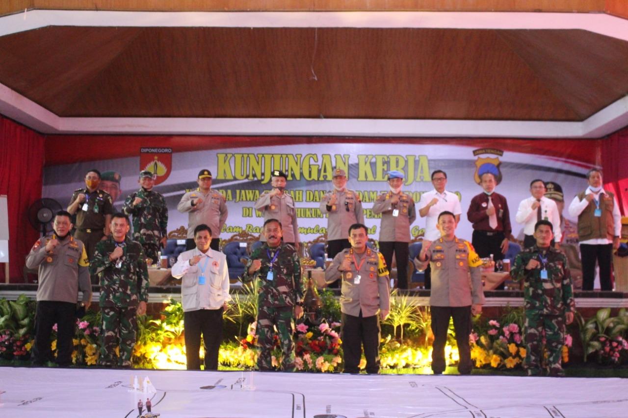 Pangdam IV/Diponegoro, Pamdemic Covid – 19 Belum Selesai Kita Terapkan Protokol Kesehatan Dengan Ketat.