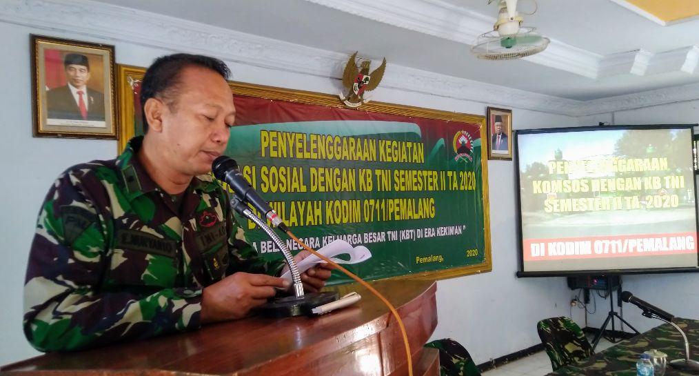 Kodim Pemalang Gelar Kegiatan Pembinaan Keluarga Besar TNI