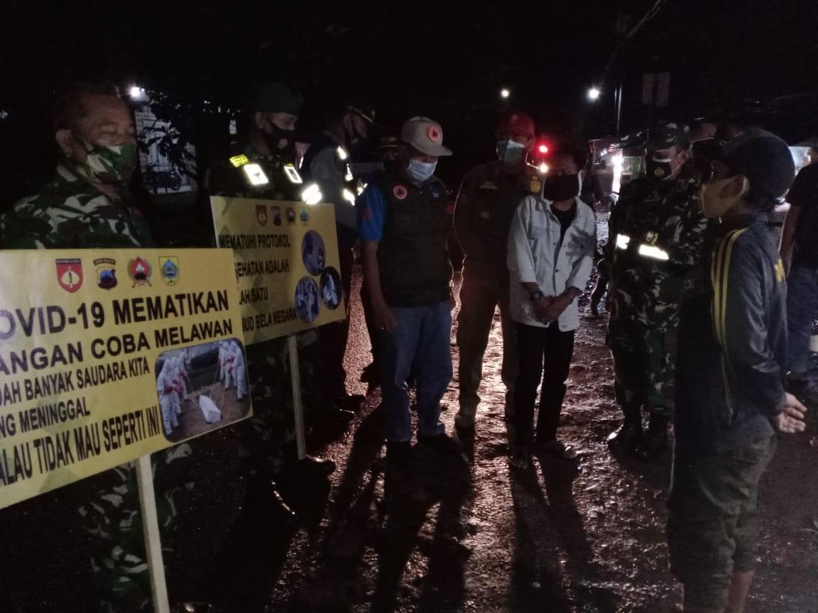 Pasiops Kodim Pemalang Gencarkan Operasi Yustisi di Masa PPKM