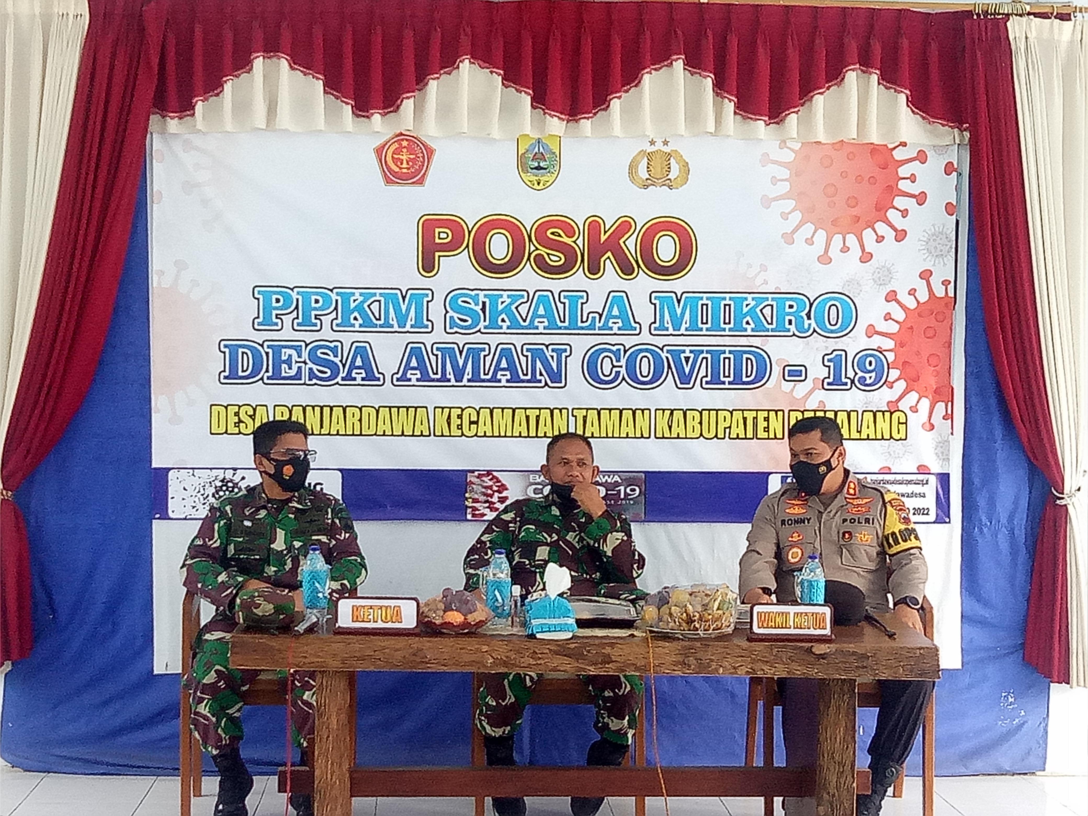 Tim Wasev PPKM Kodam IV/Dip Kunjungi Wilayah Kodim Pemalang