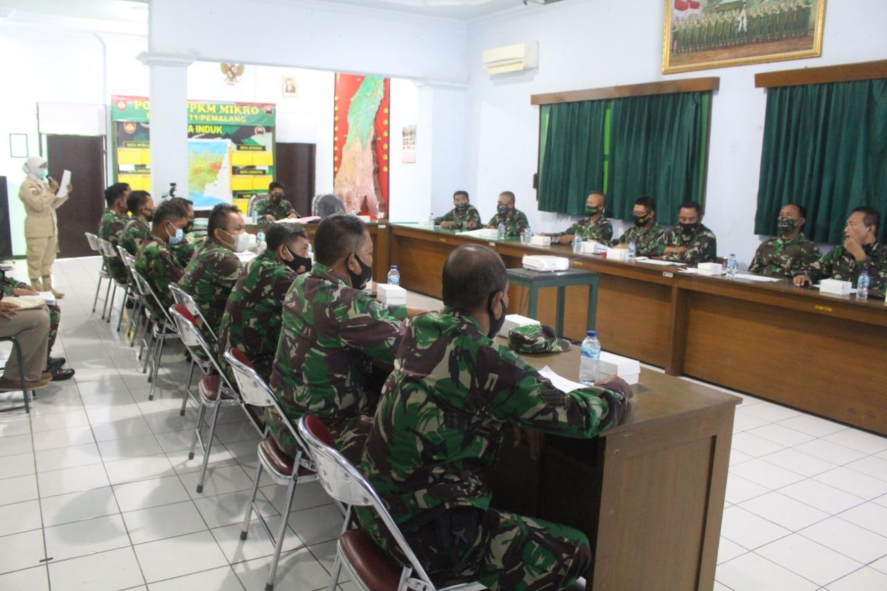 Dandim 0711/Pemalang Pimpin Sidang Pankar Jabatan Bintara dan Tamtama