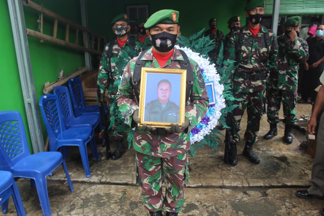 Kodim Pemalang Gelar Upacara Pemakaman Secara Militer Purnawirawan TNI AD