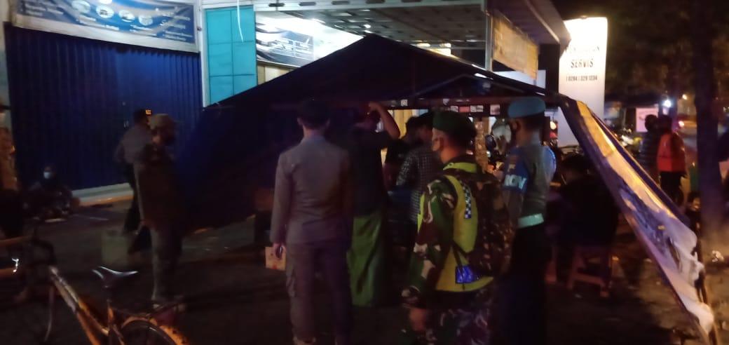 Kodim Pemalang bersama Polres dan Satpol Gelar Operasi Yustisi